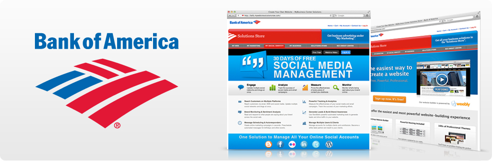 Bank of America - View Our Website Portfolio
